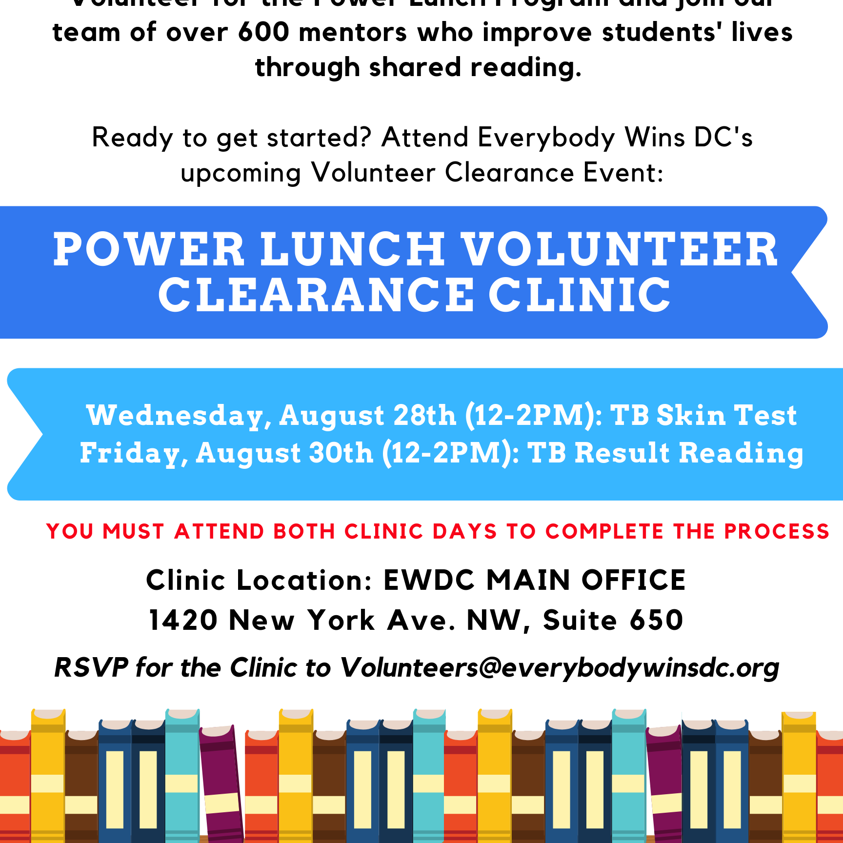August 28_30 Clearance Clinic Flyer